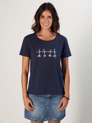 Women t-shirt BALLARINES