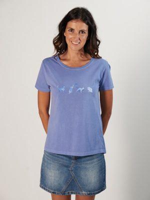Camiseta  Mujer COMETA GATOS