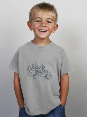 Camiseta Niño TRAZO MOTO