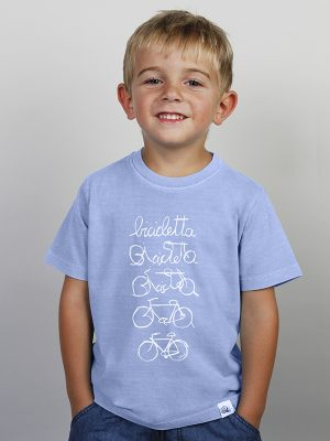 Camiseta Niño  LETRA BICI