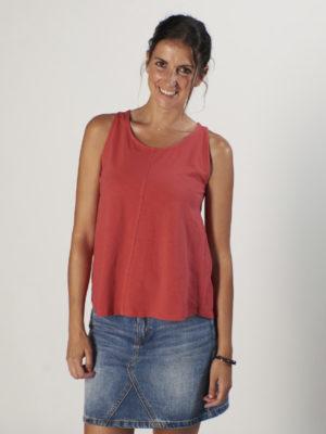 TOSSA Escarlata women's sleeveless t-shirt
